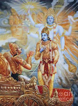 Dominique Amendola - Krishna Reveals His Universal Form To Arjuna