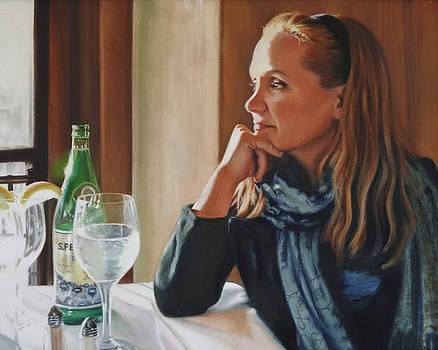 Kristen on the Hudson by Deborah Plath
