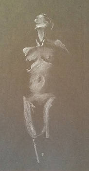 Kroki 2015 06 18_6 Figure Drawing White Chalk by Marica Ohlsson