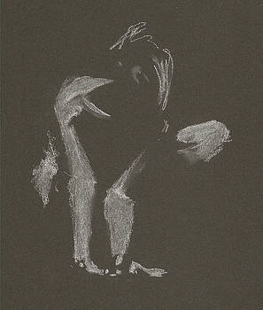 Kroki 2015 10 03_10 Figure Drawing White Chalk by Marica Ohlsson