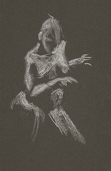 Kroki 2015 10 03_12 Figure Drawing White Chalk by Marica Ohlsson