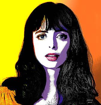 Krysten Pop Art by Greg Joens