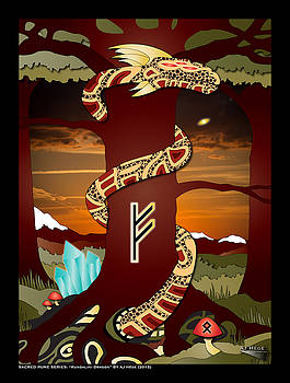 Kundalini Dragon by AJ Hege