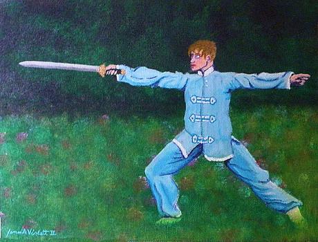 Kung Fu Jim by James Violett II