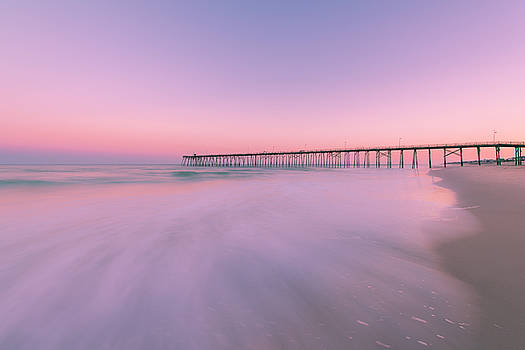 Ranjay Mitra - Kure Beach Pier Sunset