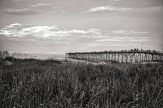 Kure Beach Pier by Willard Killough III
