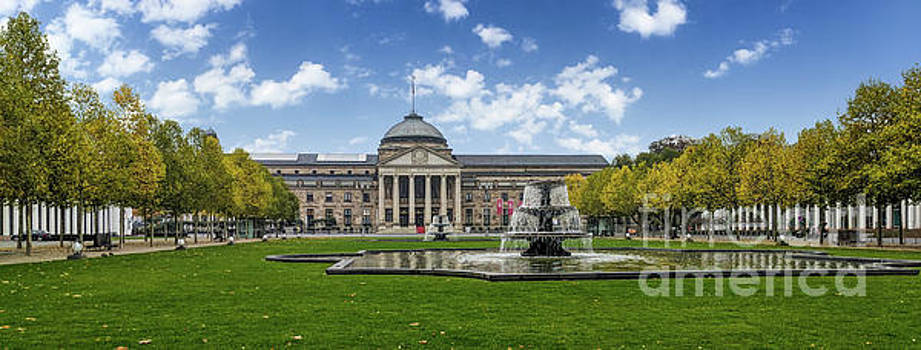 Kurhaus Wiesbaden Germany by Kimberly Blom-Roemer