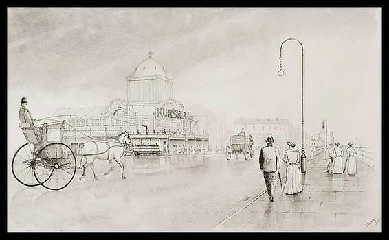 Kursaal After The Rain by David Godbolt