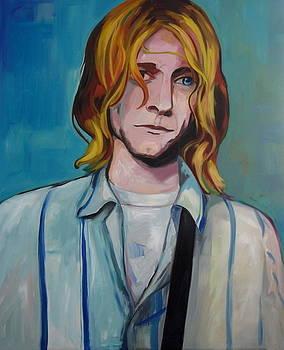Kurt Cobain 3 by Carmen Stanescu Kutzelnig