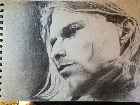 Kurt Cobain by Brandon Troutman