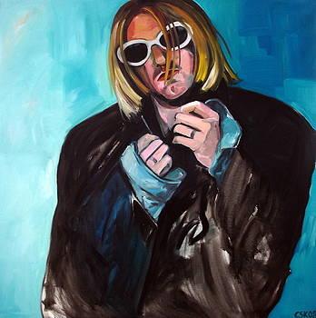 Kurt Cobain by Carmen Stanescu Kutzelnig