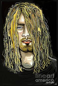 Kurt Cobain Lithium by Jennifer Miller