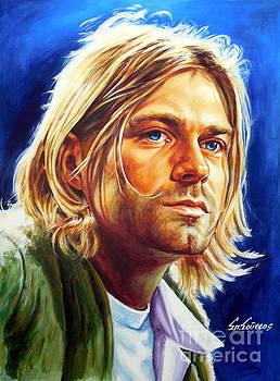Kurt Cobain - Nirvana by Spiros Soutsos