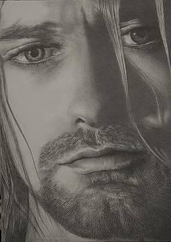 Kurt Cobain  by Steve Vanhemelryck