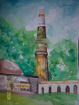 Kutub Minar by Shweta Gupta