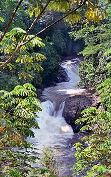 Kwa Qua Water Falls V by Muyiwa OSIFUYE