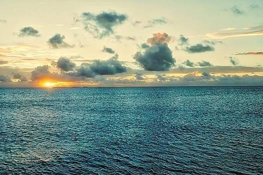 Kwaj Sunset by Byron Fair