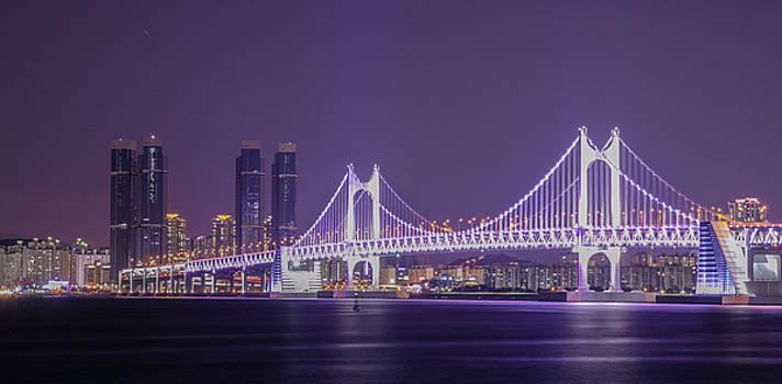 KwangAN Bridge by Hyuntae Kim