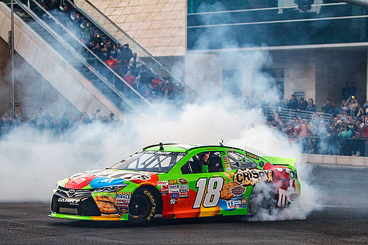 Kyle Busch - 2015 NASCAR Champion  by James Marvin Phelps