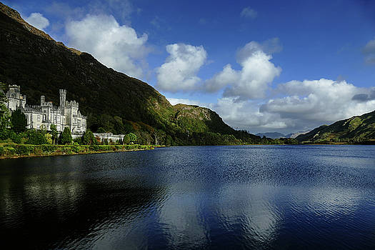 Kylemore Abbey in the Evening by Bill Jordan