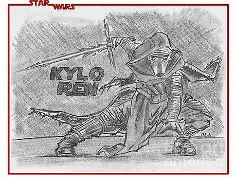 Kylo Ren The Force Awakens by Chris DelVecchio