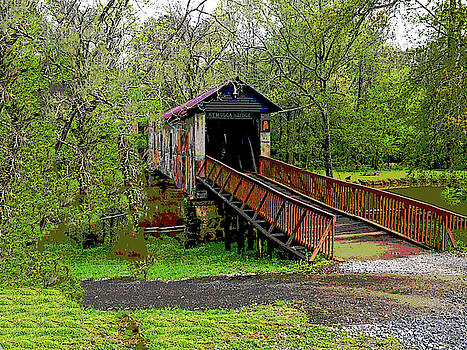 Kymulga Covered Bridge by Charles Shoup
