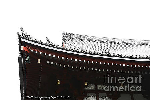 Kyoto Temple Arches by Bryan Cole Photography