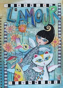 L' amour by Johanna Virtanen