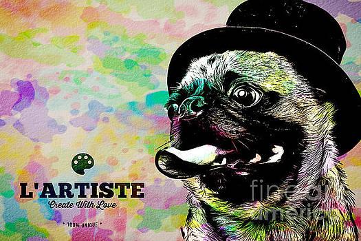 Edward Fielding - L Artiste Pug