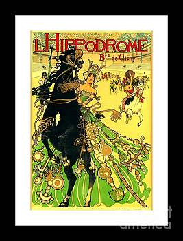 Peter Gumaer Ogden - L Hippodrome 1905 Parisian Art Nouveau Poster II Manuel Orazi 1905