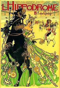 Peter Gumaer Ogden - L Hippodrome 1905 Parisian Art Nouveau Poster Manuel Orazi 1905