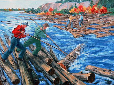 L Lumberjacks and Logjams by RoseMarie Condon