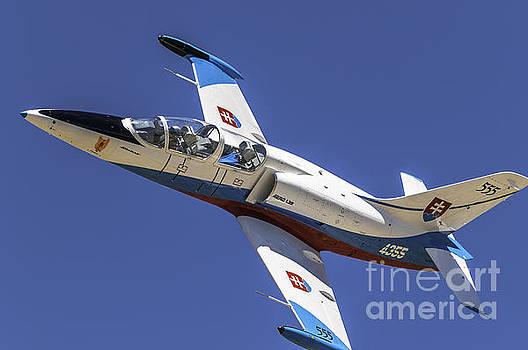 L39 Slovak Air Force Racing by Steve Rowland