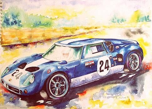 l963 Lola GT by Anne Dalton