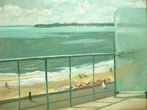 La Baule from my Balcony by Zois Shuttie