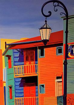 La Boca CityScape #40 by JoeRay Kelley