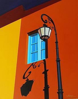 La Boca Street Scene 31 by JoeRay Kelley