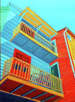 La Boca Upper Deck Parking by JoeRay Kelley