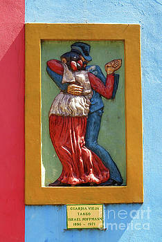Vivian Christopher - La Boca Wall Sculpture 1