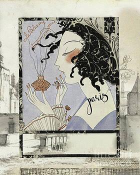 La Boheme Paris Art Deco by Mindy Sommers