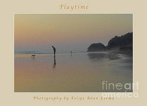 Felipe Adan Lerma - la Casita Playa Hermosa Puntarenas Costa Rica - Playtime Crop Poster