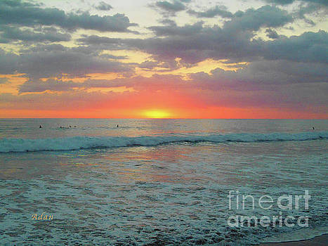 Felipe Adan Lerma - la Casita Playa Hermosa Puntarenas Costa Rica - Sunset Teal
