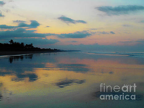 Felipe Adan Lerma - la Casita Playa Hermosa Puntarenas - Sunrise One - Painted Beach Costa Rica
