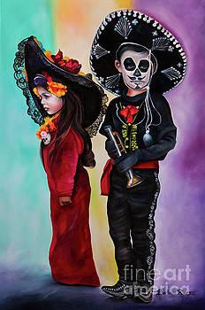 La Catrina y El Charro by Barbara Rivera