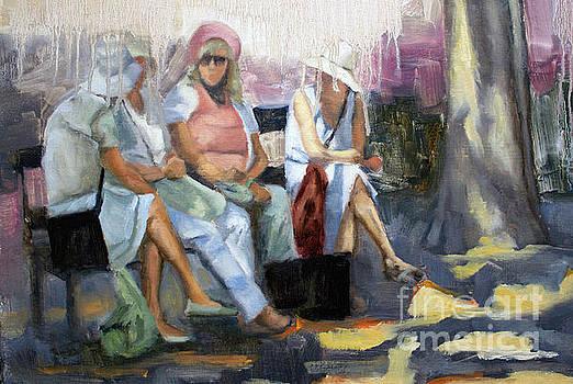 La conversation by Tate Hamilton