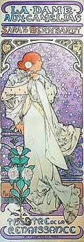 Alphonse Mucha - La Dame Aux Camelias