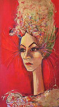 La Dame Perdue by Ioana Harjoghe Ciubucciu