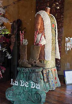 La De Da Gingerbread Dress and Boots by Suzanne Gaff