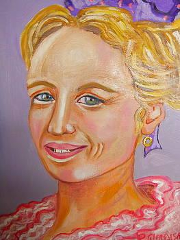 La Demoiselle de Provence by Rusty Woodward Gladdish
