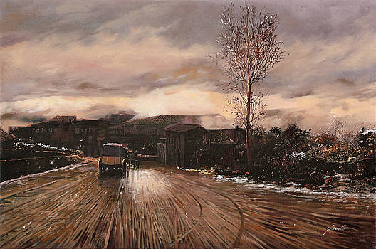 La Diligenza by Guido Borelli